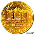 Goldmünze Wiener Philharmoniker  - 1/10 Oz Gold 2016