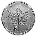 1 Unze Silber Canada Maple Leaf Privy Mark Affe 2016