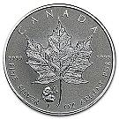 1 Unze Silber Canada Maple Leaf Privy Mark Panda 2016