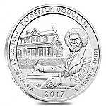 5 oz Silber USA America the Beautiful 2017 Columbia Frederick Douglass