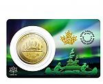 1 Unze Gold 2017 Canada 150 Special Edition Voyageur 150 $ CAN in Coin Card