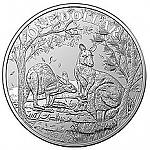 1 Oz Silber Australien Känguru Seasons Change 2019 in Kapsel