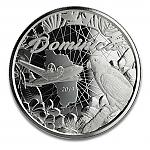 1 Oz Silber Dominica Sisserou Papagei und Flugzeug Nature Isle 2019 Prooflike - EC8 Serie II