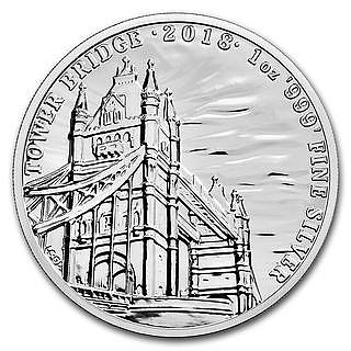 1 Unze Silber Tower Bridge Royal Mint Silbermünze 1 Oz Münze In