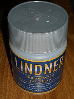Münzreinigungsbad für Goldmünzen - Lindner