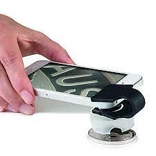 Makrolinse für Smartphones oder Tablets mit 60-facher Vergoeßerung - Phonescope