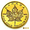 Goldmünzen Maple Leaf 1/20 oz Gold