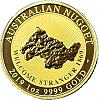 1 oz Gold Nugget Perth Mint Australien 2019