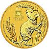 1/4 Oz Goldmünze Australien Lunar III Maus 2020 - Year of the Mouse