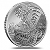 1 OZ Silver Round The Egyptian - World of Dragons Serie - Der Ägyptische Drache