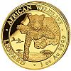 1 Oz Goldmünze Somalia African Wildlife Leopard 2020