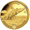 1 Oz Goldmünze Worlds Wildlife Kongo The Whale 2020
